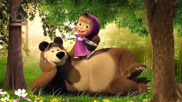 'Masha y el Oso' sorprenden al mundo entero al anunciar su propio show de streaming