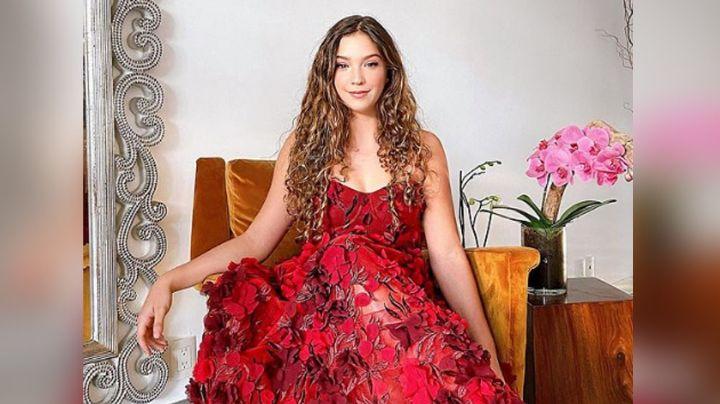 Mía Rubín, hija de Andrea Legarreta, presume su 'outfit' para el 14 de febrero