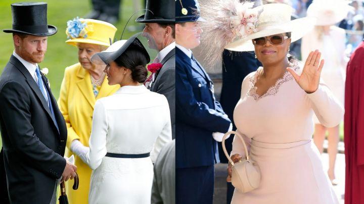 Tiembla Reina Isabel II: Príncipe Harry y Meghan Markle en entrevista con Oprah Winfrey
