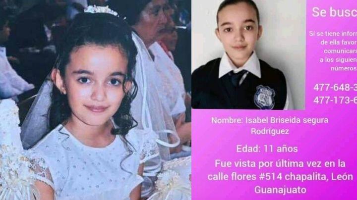Isabel de 11 años fue a la tienda y nunca volvió; está desaparecida y temen por su vida