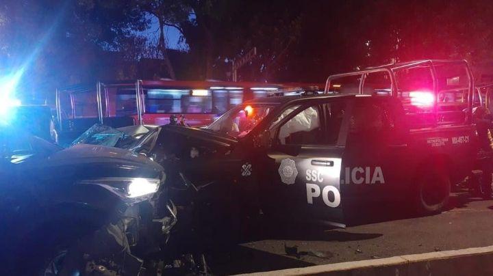 Tragedia en CDMX: Choque múltiple deja un saldo de un muerto y cuatro heridos