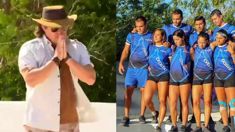 Tragedia en 'Exatlón': Atleta de 'Héroes' da desgarradora noticia y Rosique rompe en llanto