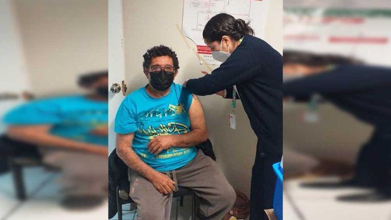 Don Ramón, el primer adulto mayor sonorense en recibir la vacuna Covid-19