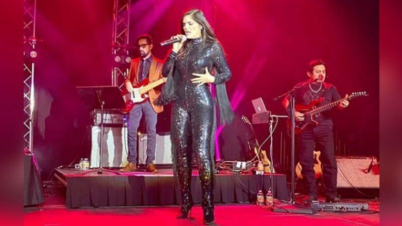 VIDEO: ¡En plena pandemia! Ana Bárbara ofrece concierto con público