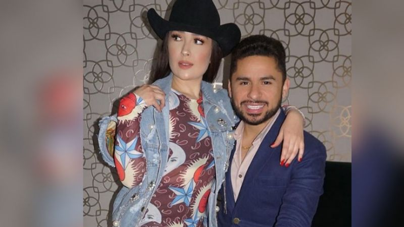 Kenia Ontiveros debuta en la música: Esposa de Larry Hernández cantará ¿narcocorridos?