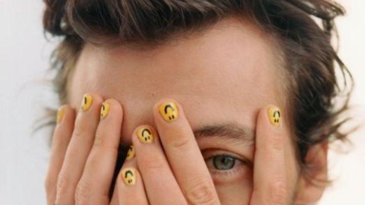 Como Harry Styles: Ve en contra de los estereotipos con estos diseños de uñas para hombres