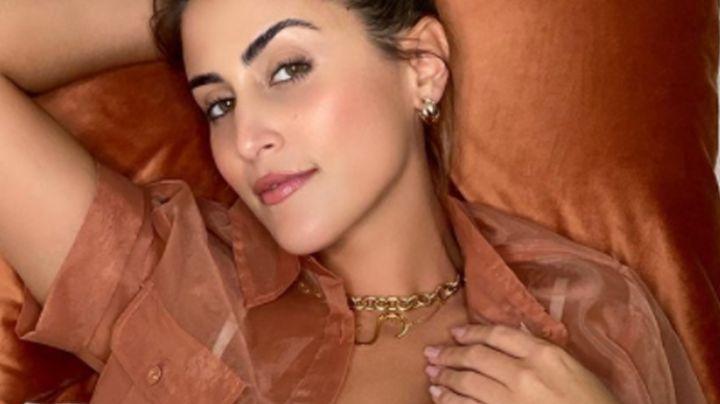 Sofía Rivera Torres enamora a fans al mostrar tremendo 'outfit' para salir en 'Qué Importa!'