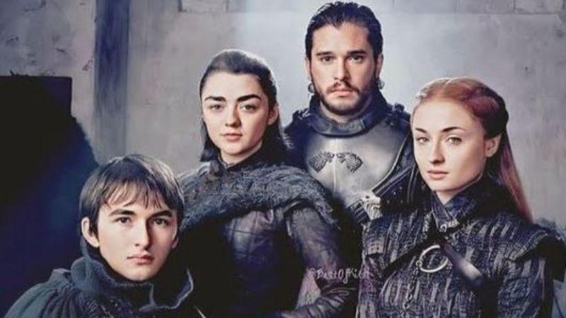 FOTOS: Actores de 'Game of Thrones' le dan la bienvenida a su primer bebé