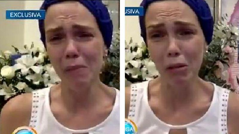 ¡Destrozada! Exconductora de TV Azteca relata muerte de su esposo entre lágrimas