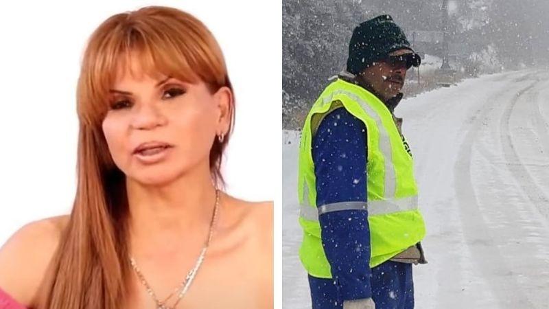 ¡Predicción cumplida! Mhoni Vidente advirtió sobre las nevadas al norte de México