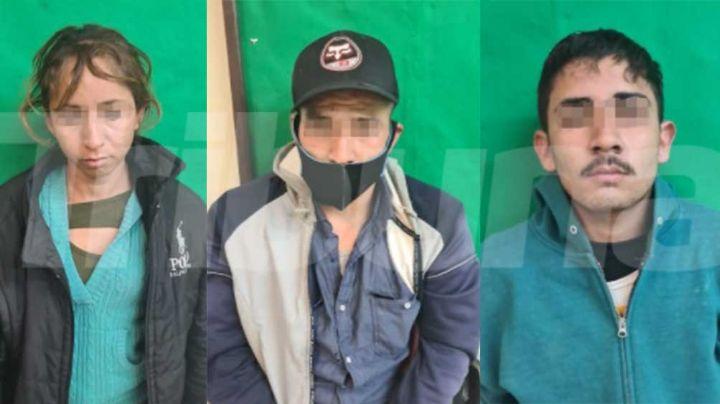 Sorprenden a una mujer y dos hombres con drogas y un arma en Obregón