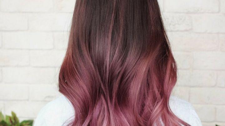 ¡Colorido y hermoso! Dale una increíble personalidad a tu cabello con un 'balayage' rosa