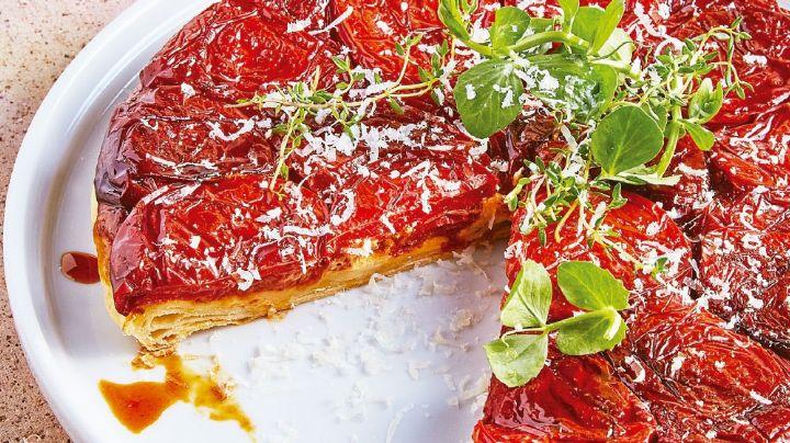 ¡El postre inesperado! Esta tarta de jitomates sorprenderá a tus seres queridos