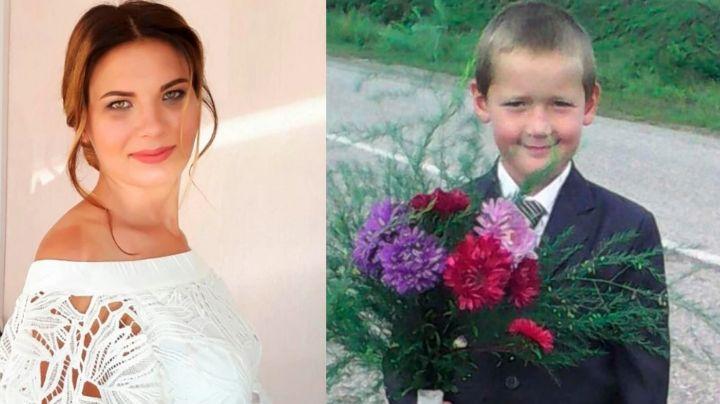 """Hallan muerto a niño de 9 años desaparecido; su tía lo estranguló y descuartizó """"en 25 pedazos"""""""