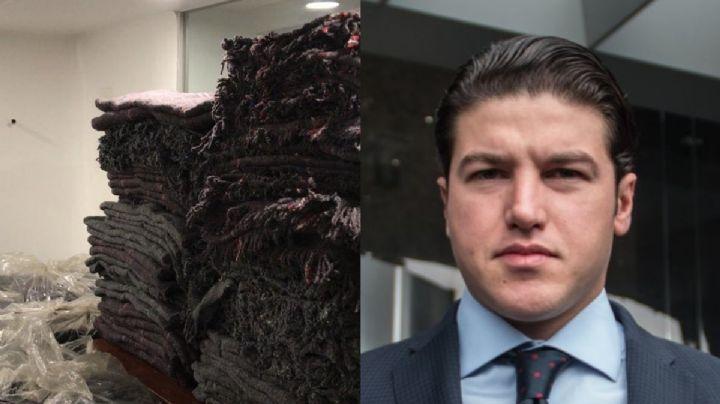 """¡Nuevamente da de qué hablar! Samuel García recibe críticas por regalar cobijas """"baratas"""""""