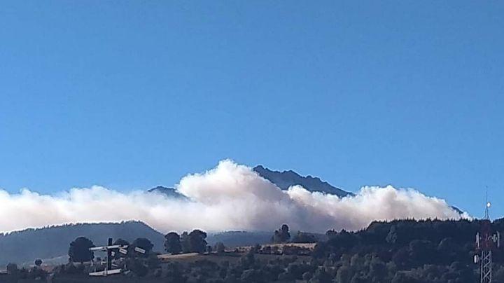 ¡En llamas! No paran incendios en el Nevado de Toluca por fuertes ráfagas de viento