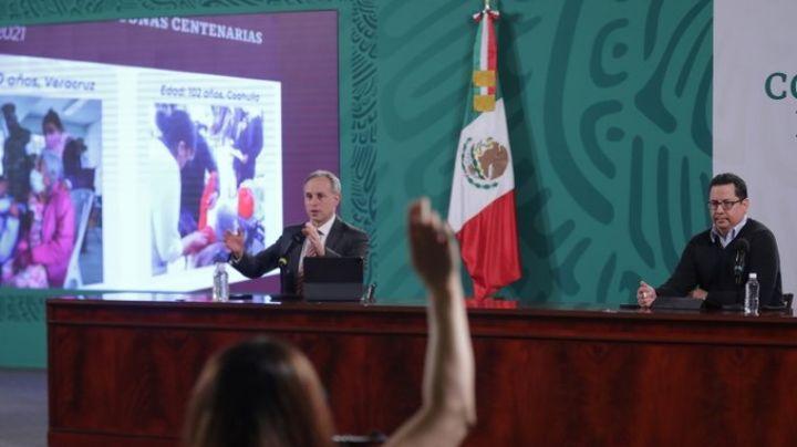 Anuncia López-Gatell que foto de INE ya no será necesaria para recibir vacuna contra Covid-19