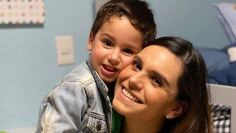 Tania Rincón celebra a su hijo Patricio a lo grande y lo presume en Instagram