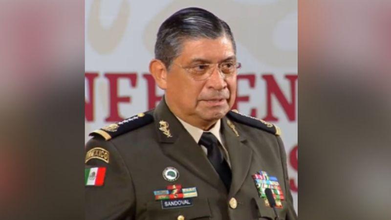 Luis Cresencio Sandoval, titular de la Sedena, da positivo a prueba de Covid-19