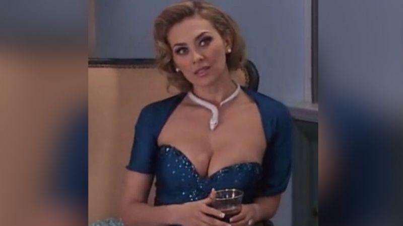 """""""Eres arte"""": Aracely Arámbula luce cinturita con coqueto vestido y paraliza Instagram"""