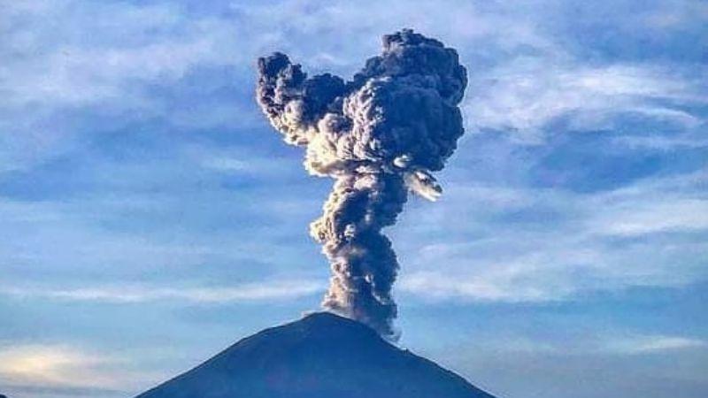 Popocatépetl no da tregua y mantiene semáforo en amarillo Fase 2; registra 21 exhalaciones