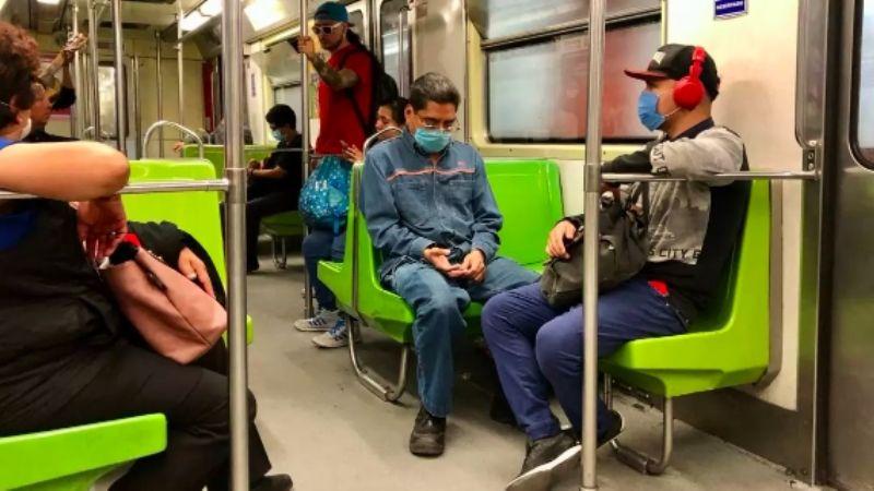 Metro de la CDMX se ahorra poner multas a usuarios por uso de cubrebocas: ¡todos lo portan!