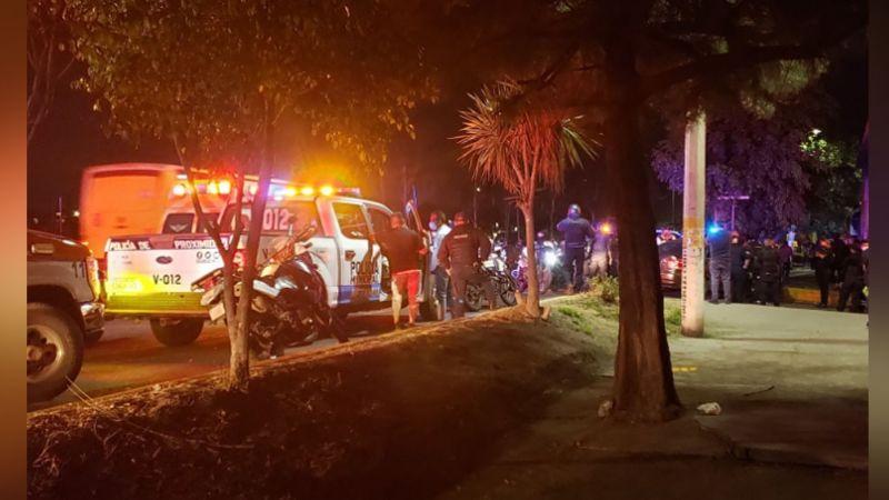 Balacera entre civiles y policías deja como saldo una persona gravemente herida