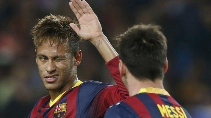 (VIDEO) La eufórica celebración de Neymar que indignó a los aficionados del Barcelona