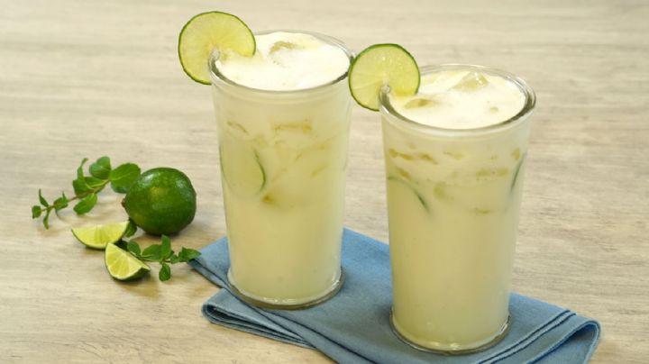 Refresca todas tus comidas con esta cremosa, deliciosa e innovadora limonada brasileña