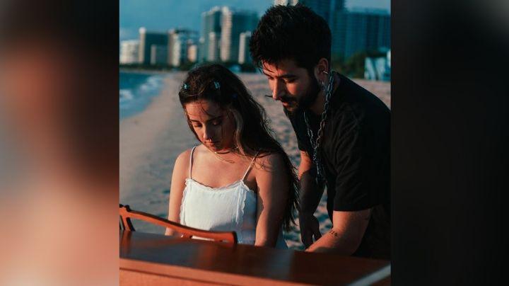 Camilo se roba el corazón de Evaluna Montaner al cantarle romántico tema
