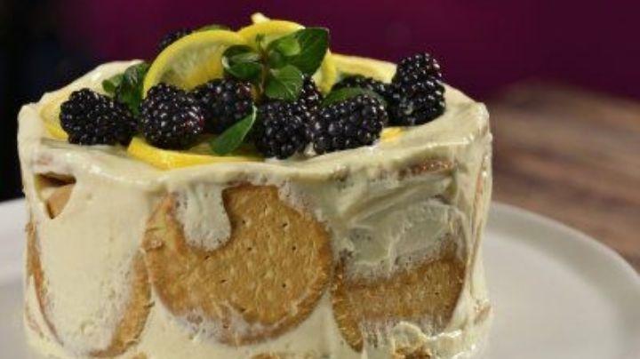 ¡No te limites! Esta carlota de limón 'fit' será tu postre saludable favorito
