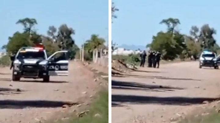 Hallan a 'encobijado' en camino de terracería a las afueras de Ciudad Obregón