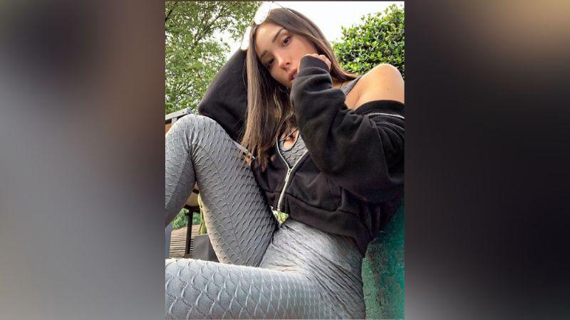 Danik Michell derrite Instagram al posar de manera espectacular sobre el balcón