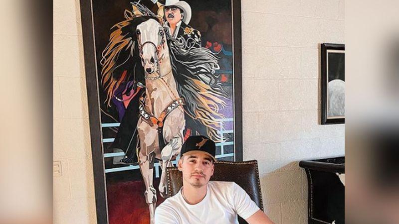 Él es Fede Figueroa, el sobrino de Joan Sebastian que conquista las redes sociales