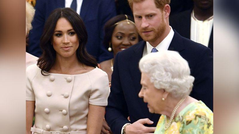Reina Isabel II, deja sin nada al Príncipe Harry y Meghan Markle tras el Megxit