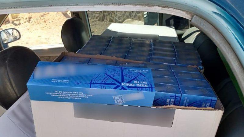 Guardia Nacional detiene a automóvil cargado con cigarros ilegales en Coahuila