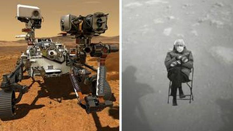 Ya están aquí los más divertidos memes del aterrizaje del Perseverance en Marte