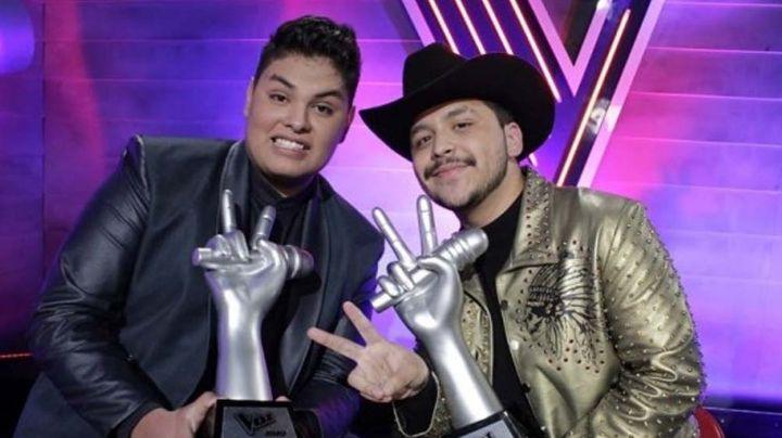 ¿Aires de diva? Christian Nodal 'desprecia' a ganador de 'La Voz' en Instagram