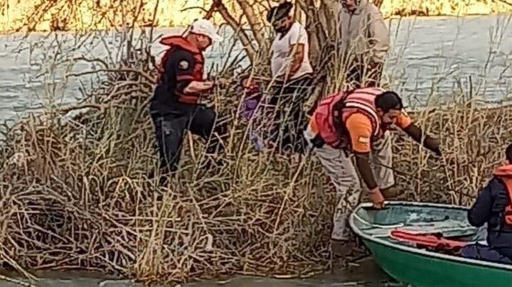 En busca del  'sueño americano', muere trágicamente niño de 8 años en el río Bravo