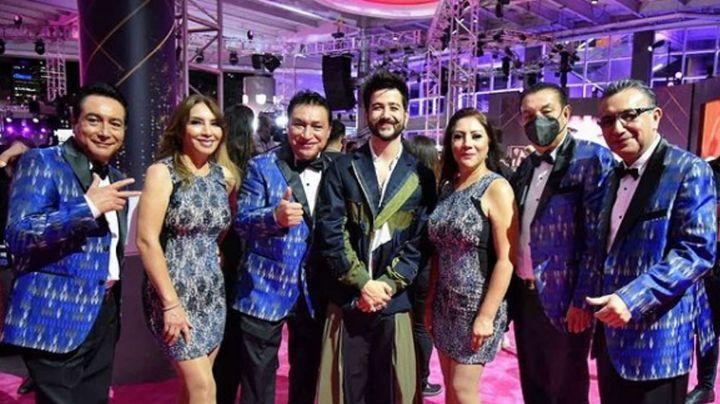 """Tunden de críticas a Camilo por posar junto a Los Ángeles Azules: """"Un gusto y ni canta"""""""