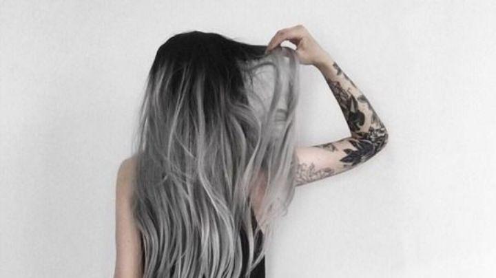 ¿Quieres un cambio de 'look'? El 'balayage' gris hará que tu cabello robe todas las miradas
