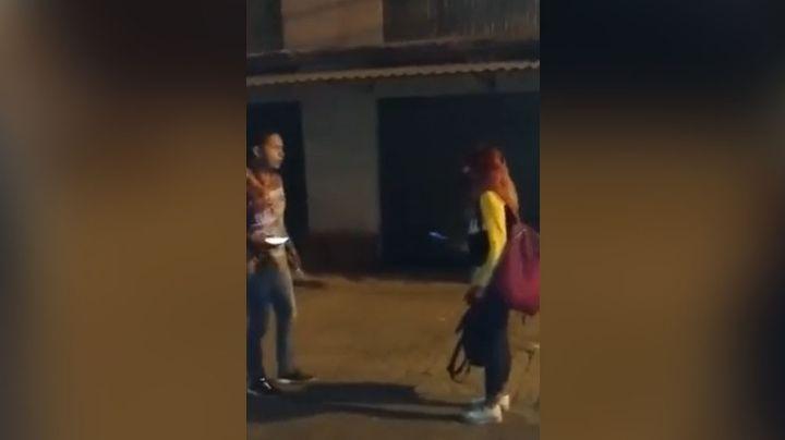VIDEO: Chofer de Didi mata a puñaladas a ladrón; la viuda del asaltante enfurece