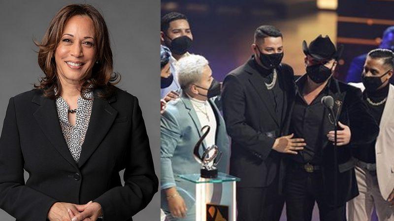 Kamala Harris rompe el silencio y habla sobre la pandemia de Covid-19 en Premios Lo Nuestro