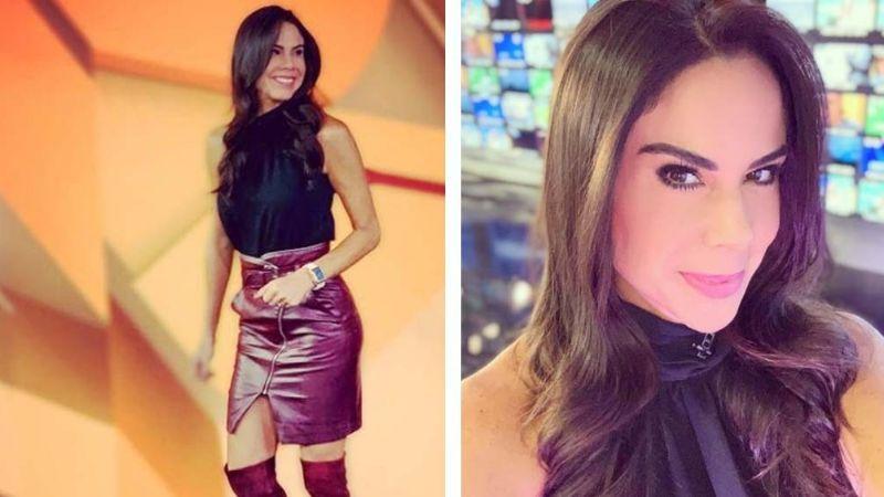 Paola Rojas se despide de Televisa con su mejor pantalón y paraliza Instagram