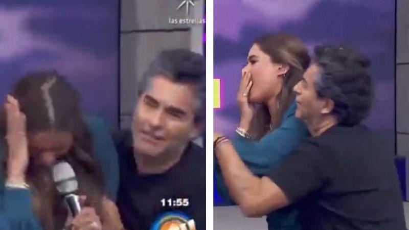VIDEO: Conductor de 'Hoy' da tremendo golpe a Galilea Montijo en vivo en Televisa