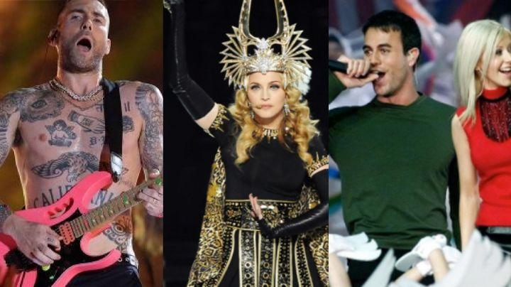 Super Bowl: Madonna y Maroon 5, entre los peores shows de medio tiempo