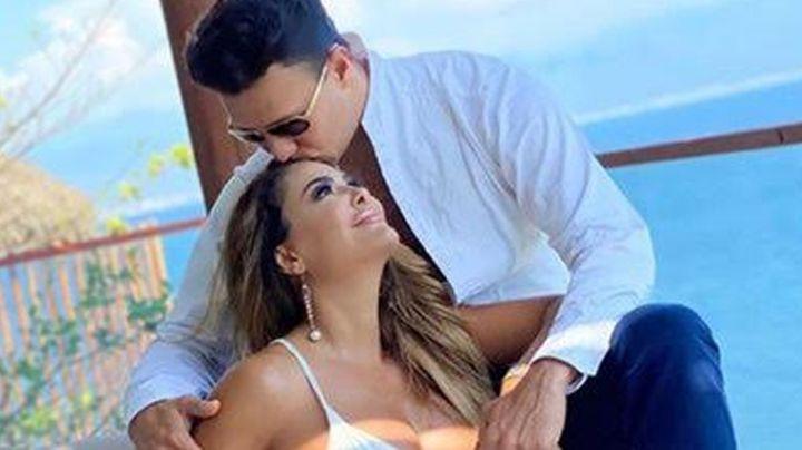 Ninel Conde reaparece en redes con emotivo mensaje para Larry Ramos por su aniversario