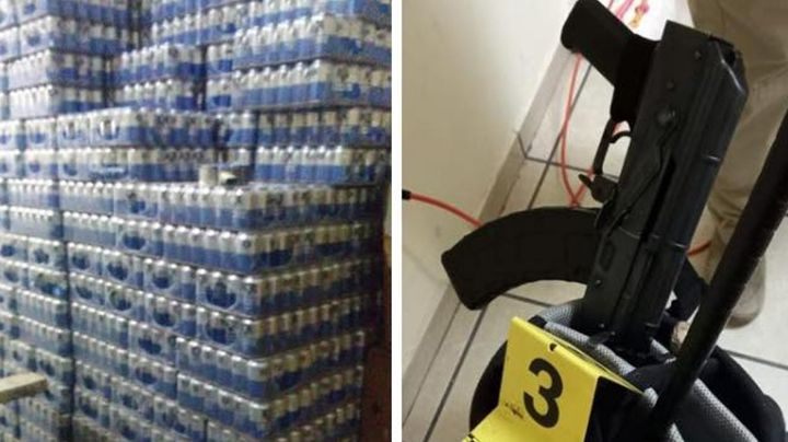 Golpe a la venta ilegal de alcohol: Decomisan más de 9 mil latas de cerveza en Hermosillo