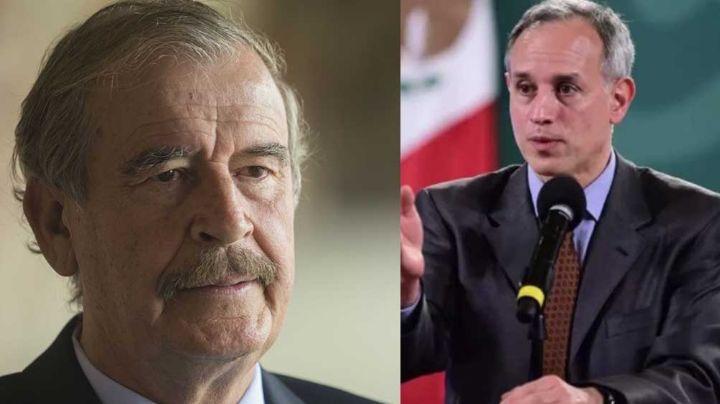 Le llueven críticas a López Gatell: Vicente Fox lo destroza por contagiarse de Covid-19