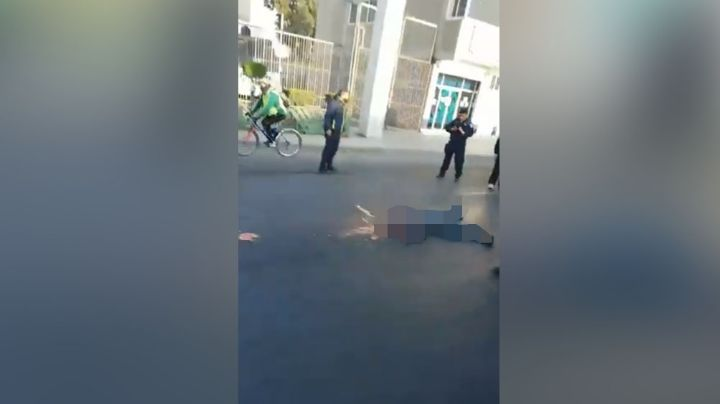 Hombre desata el caos en Edomex: Muere al arrojarse de un puente a la vista de peatones